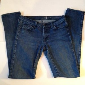 7FAMK Roxanne Skinny Jeans Size 29
